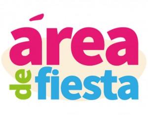 Logotipo Área de Fiesta. Parque de bolas