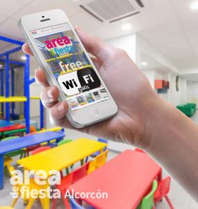 WiFi gratis disponible en Area de Fiesta Alcorcón